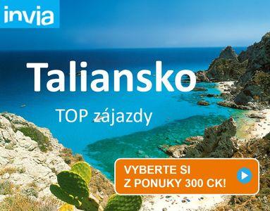 taliansko dovolenka zájazd top ponuky