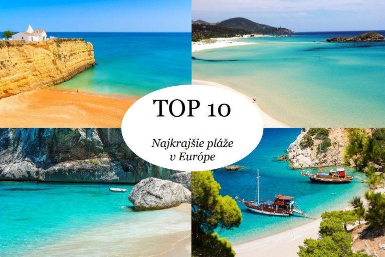 Toto je 10 najkrajších pláží v Európe!