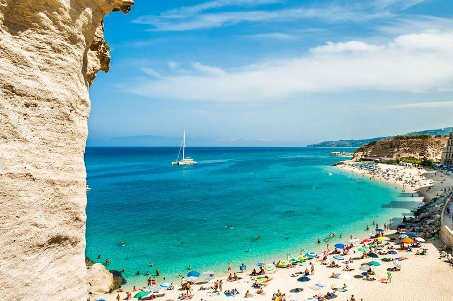 pláž Tropea, Taliansko, najkrajšie pláže v Európe