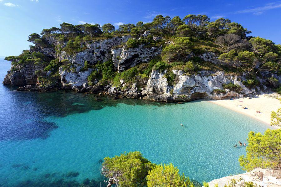 najkrajšie pláže v Európe, Menorka