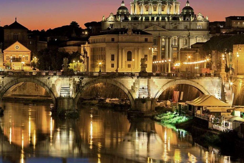 čo vidieť v Ríme, prechadzka Lungotevere