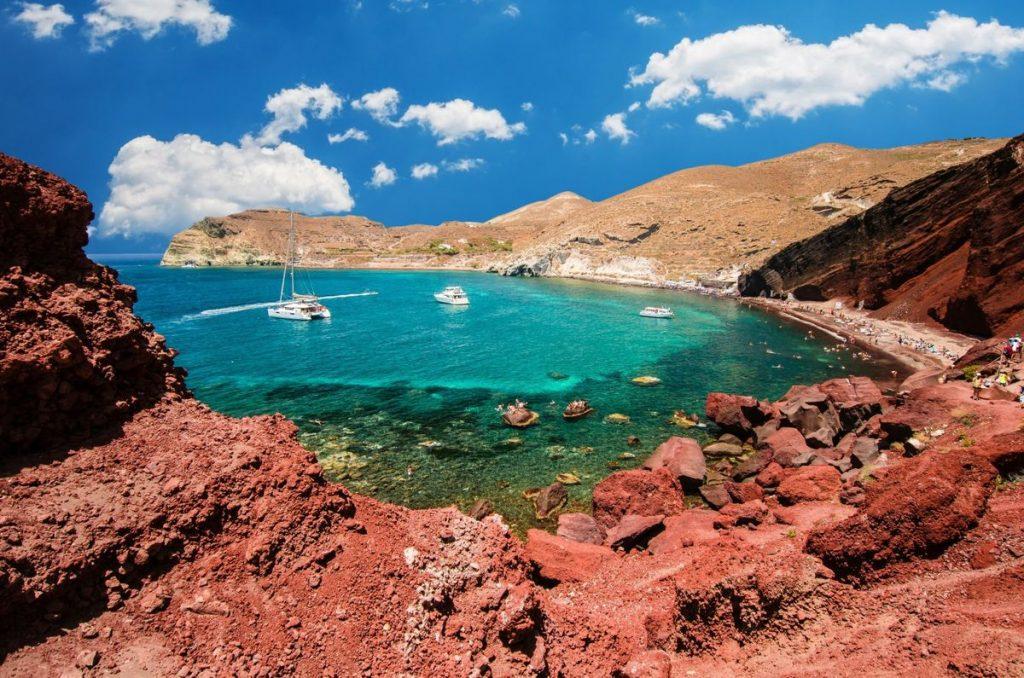 dovolenka na Santorini pláže