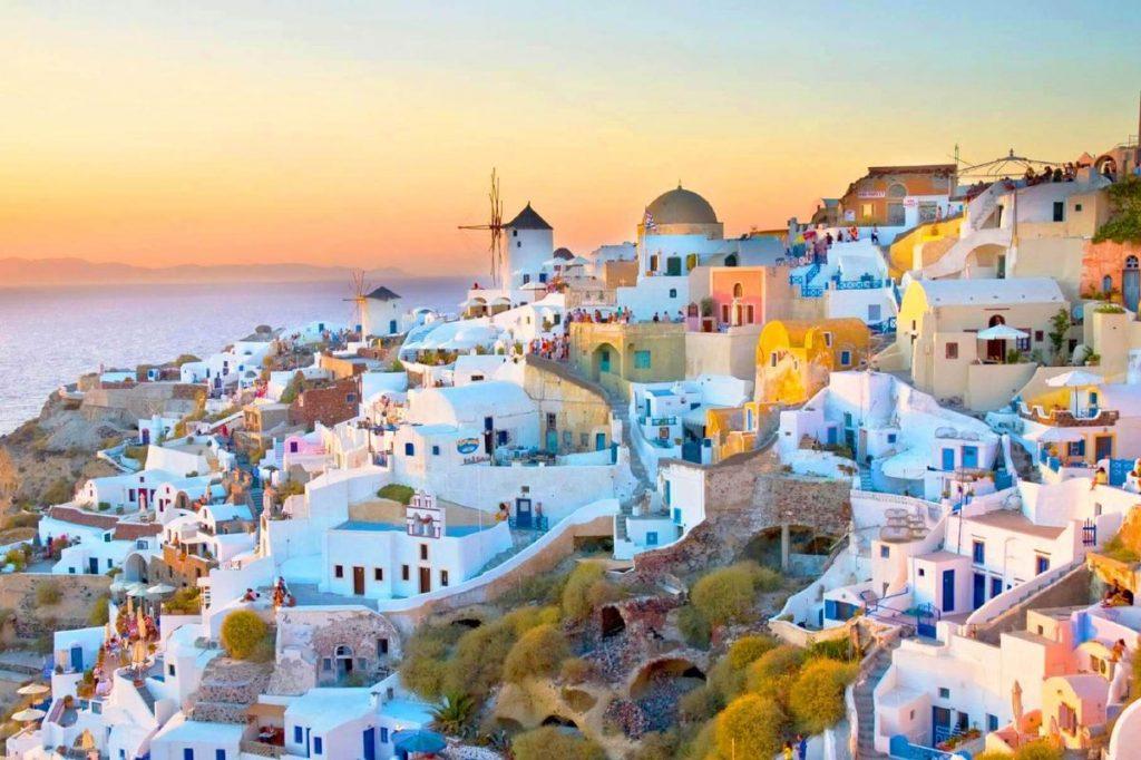 dovolenka na Santorini romantika