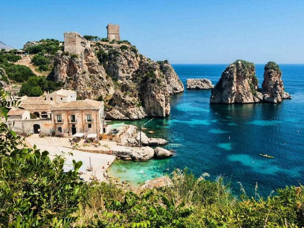 dovolenka sicília - najkrajšie pláže sicílie