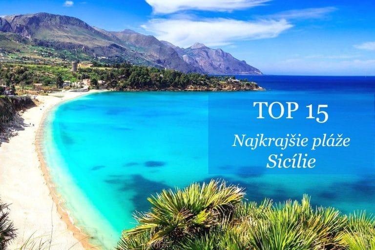 Užite si 15 najkrajších pláží Sicílie! Veľký prehľad a skvelá mapa pre vašu dovolenku…