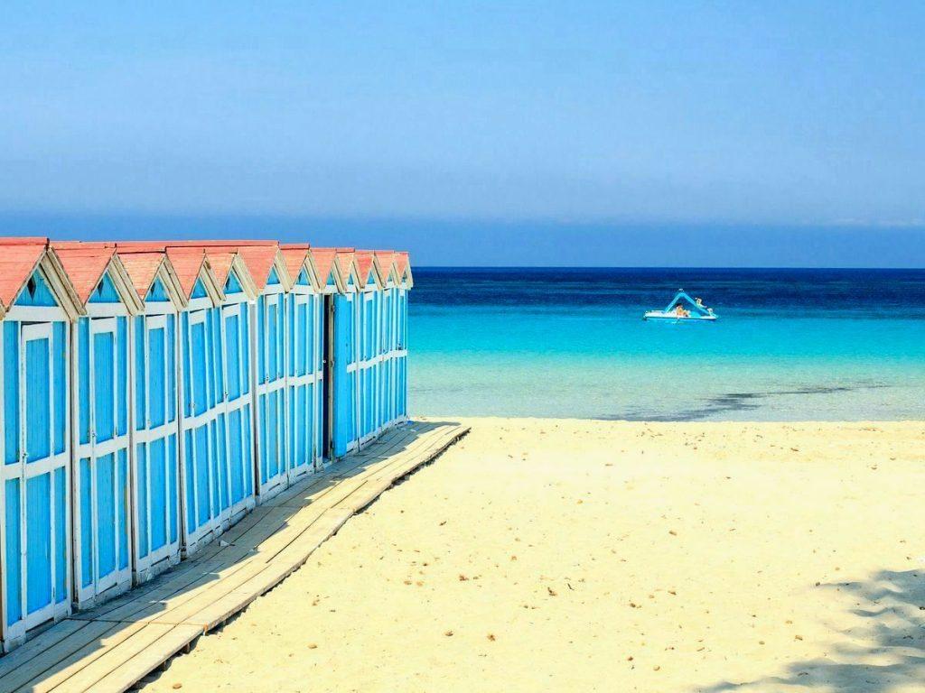 najkrajšie pláže sicílie, pláž mondello