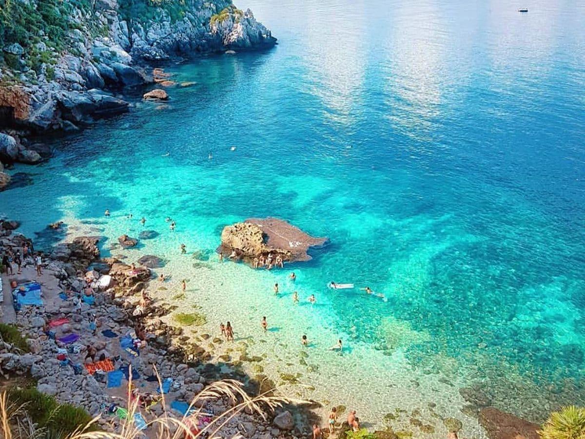 najkrajšie pláže sicílie, pláž marinello