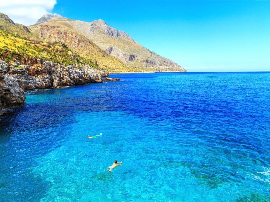 najkrajšie pláže sicílie, dovolenka, riviera dei ciclopi