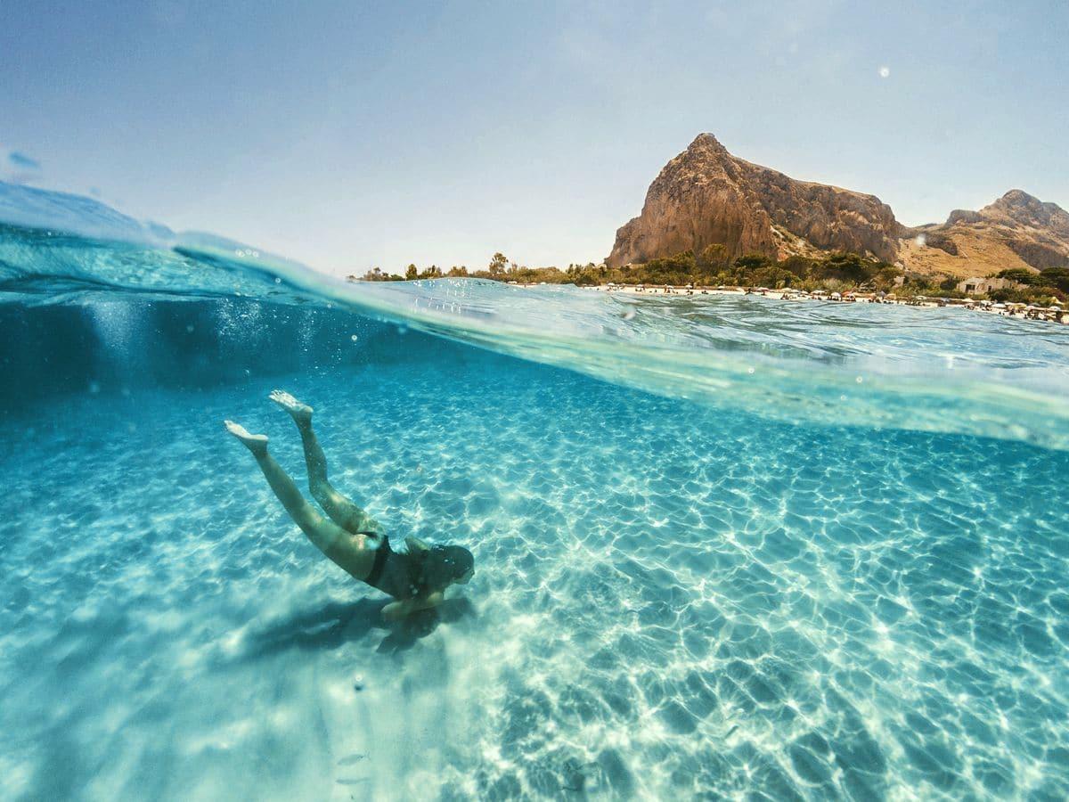 najkrajšie pláže sicílie san vito lo capo