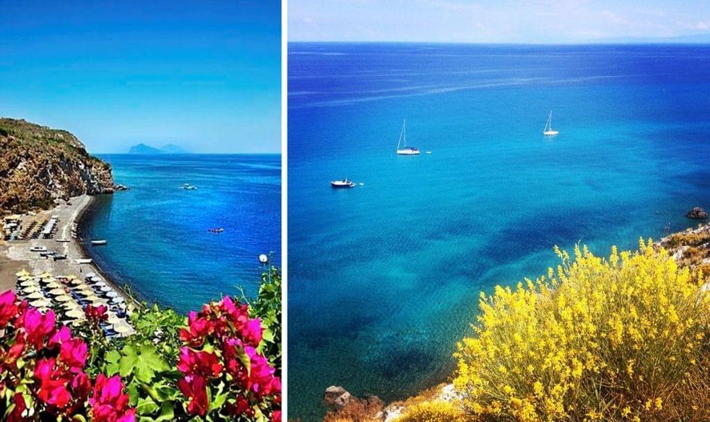 najkrajšie pláže sicílie pláž spiaggia bianca