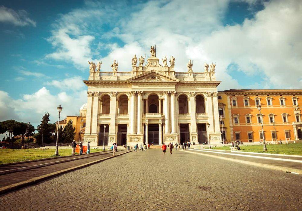 rím pamiatky bazilika san giovanni in laterano