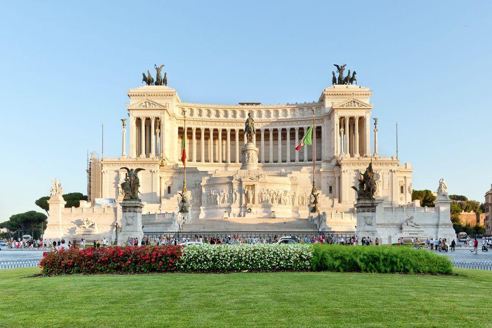 rím pamiatky pamätník vittorio emanuele
