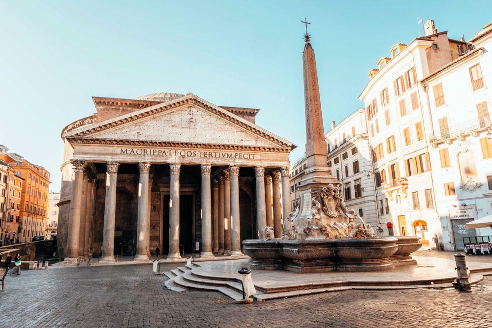 rím pamiatky pantheon