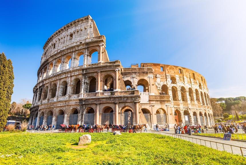 rím pamiatky koloseum