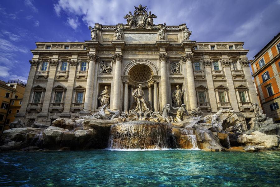 rim pamiatky fontana di trevi