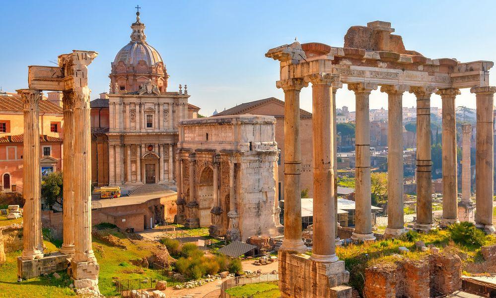rim pamiatky forum romanum