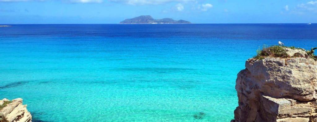 sicília najkrajšie pláže cala rossa favignana