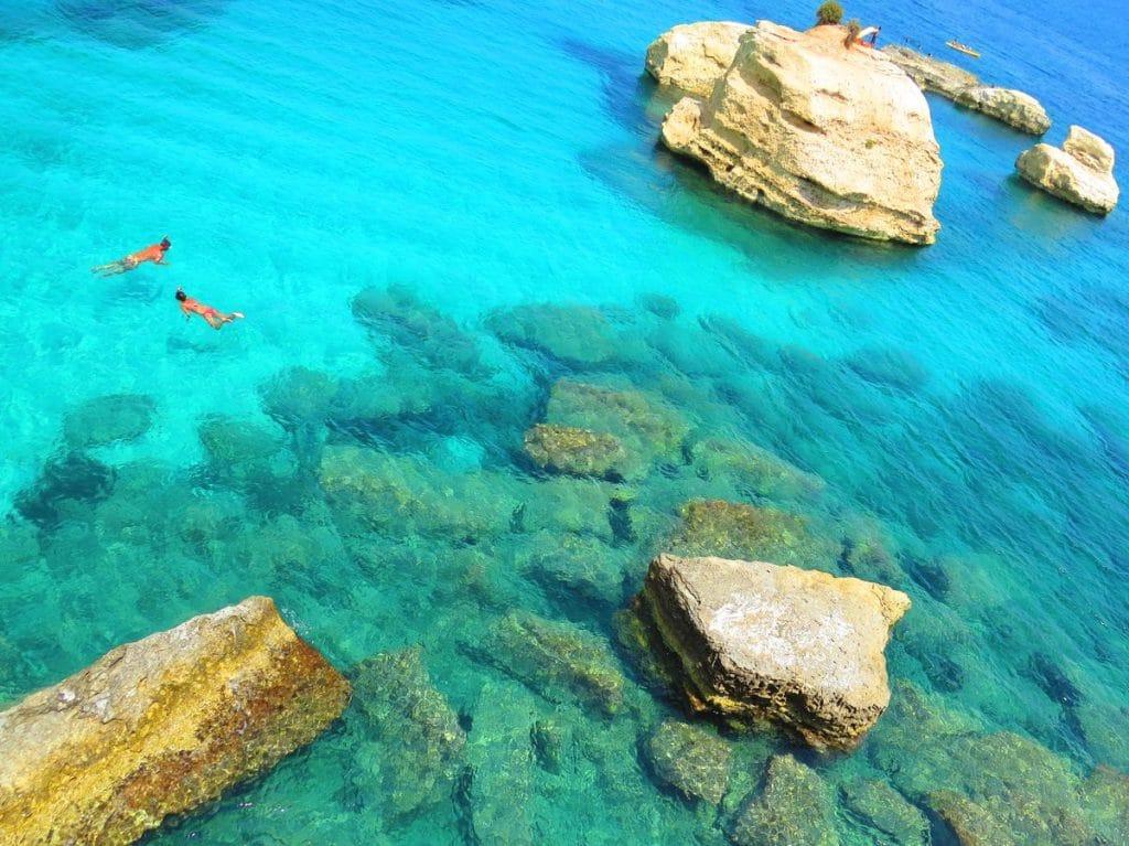 sicília najkrajšie pláže fontane bianche syrakúzy