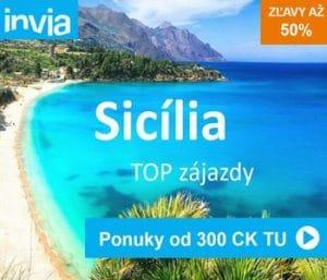 sicília dovolenka zájazd last minute