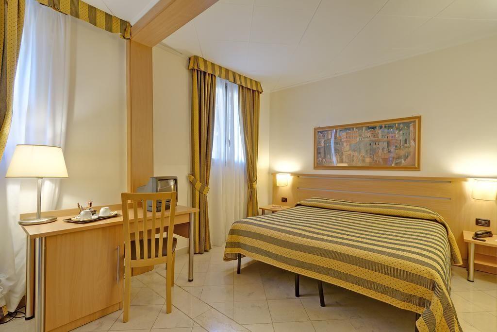 zajazd do Rima, izba v hoteli