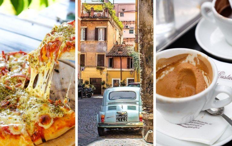Člnkovanie v parku Villa Borghese, najlepšia pizza a káva v meste a ďalšie tipy, čo zažiť v Ríme!