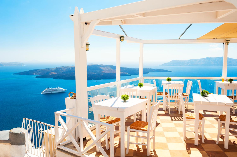 dovolenka santorini tipy reštaurácie